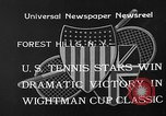 Image of Wight Cup Classic Tournament Forest Hills New York USA, 1933, second 4 stock footage video 65675054996