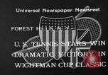 Image of Wight Cup Classic Tournament Forest Hills New York USA, 1933, second 5 stock footage video 65675054996