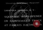 Image of Equipoise wins race Saratoga Springs New York USA, 1933, second 1 stock footage video 65675054999