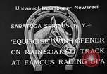 Image of Equipoise wins race Saratoga Springs New York USA, 1933, second 3 stock footage video 65675054999