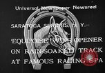 Image of Equipoise wins race Saratoga Springs New York USA, 1933, second 5 stock footage video 65675054999