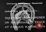 Image of Equipoise wins race Saratoga Springs New York USA, 1933, second 6 stock footage video 65675054999