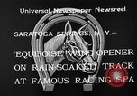 Image of Equipoise wins race Saratoga Springs New York USA, 1933, second 8 stock footage video 65675054999