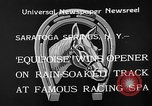 Image of Equipoise wins race Saratoga Springs New York USA, 1933, second 9 stock footage video 65675054999