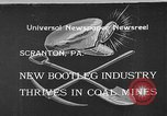 Image of bootleggers mining Scranton Pennsylvania USA, 1933, second 1 stock footage video 65675055003