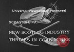 Image of bootleggers mining Scranton Pennsylvania USA, 1933, second 2 stock footage video 65675055003