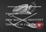 Image of bootleggers mining Scranton Pennsylvania USA, 1933, second 3 stock footage video 65675055003
