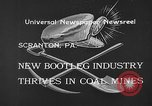 Image of bootleggers mining Scranton Pennsylvania USA, 1933, second 5 stock footage video 65675055003