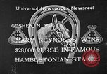 Image of Hambletonian Stake Goshen New York USA, 1933, second 1 stock footage video 65675055009