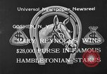 Image of Hambletonian Stake Goshen New York USA, 1933, second 2 stock footage video 65675055009