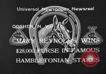 Image of Hambletonian Stake Goshen New York USA, 1933, second 6 stock footage video 65675055009