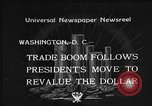 Image of Gold Reserve Act Washington DC USA, 1934, second 3 stock footage video 65675055010