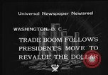 Image of Gold Reserve Act Washington DC USA, 1934, second 8 stock footage video 65675055010