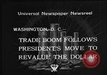 Image of Gold Reserve Act Washington DC USA, 1934, second 9 stock footage video 65675055010