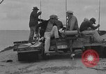 Image of amphibian auto Padre Island Texas USA, 1934, second 8 stock footage video 65675055014