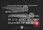 Image of air show Miami Florida USA, 1934, second 2 stock footage video 65675055018