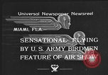 Image of air show Miami Florida USA, 1934, second 5 stock footage video 65675055018