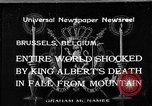 Image of King Albert I Brussels Belgium, 1934, second 1 stock footage video 65675055019