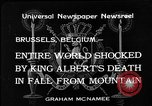 Image of King Albert I Brussels Belgium, 1934, second 2 stock footage video 65675055019