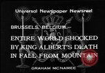 Image of King Albert I Brussels Belgium, 1934, second 3 stock footage video 65675055019