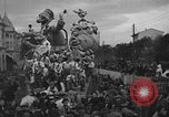 Image of carnival Viareggio Italy, 1934, second 3 stock footage video 65675055021