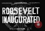 Image of Franklin Roosevelt Washington DC USA, 1933, second 11 stock footage video 65675055028