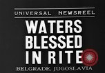 Image of blessed water Belgrade Yugoslavia, 1935, second 3 stock footage video 65675055053