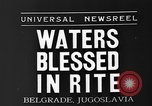 Image of blessed water Belgrade Yugoslavia, 1935, second 5 stock footage video 65675055053