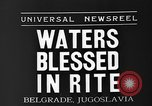 Image of blessed water Belgrade Yugoslavia, 1935, second 6 stock footage video 65675055053