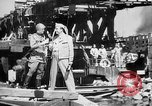 Image of American and Russian troops Germany River Elbe, 1945, second 6 stock footage video 65675055064
