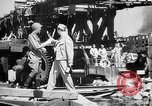Image of American and Russian troops Germany River Elbe, 1945, second 7 stock footage video 65675055064