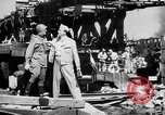 Image of American and Russian troops Germany River Elbe, 1945, second 9 stock footage video 65675055064