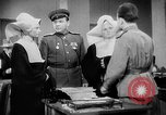 Image of Russian occupation headquarters Germany, 1945, second 5 stock footage video 65675055065
