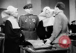 Image of Russian occupation headquarters Germany, 1945, second 10 stock footage video 65675055065