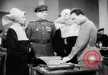 Image of Russian occupation headquarters Germany, 1945, second 11 stock footage video 65675055065