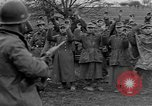 Image of German prisoners marched through town Mulhouse Alsace France, 1944, second 6 stock footage video 65675055073