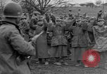 Image of German prisoners marched through town Mulhouse Alsace France, 1944, second 7 stock footage video 65675055073