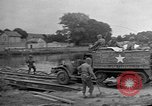Image of U.S. Army XX Corps crossing Marne River France, 1944, second 12 stock footage video 65675055074