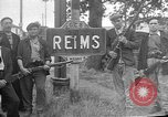 Image of French Resistance fighters take control Rheims France, 1944, second 1 stock footage video 65675055076