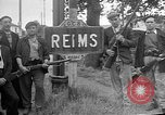 Image of French Resistance fighters take control Rheims France, 1944, second 2 stock footage video 65675055076