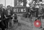 Image of French Resistance fighters take control Rheims France, 1944, second 3 stock footage video 65675055076
