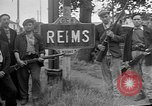Image of French Resistance fighters take control Rheims France, 1944, second 4 stock footage video 65675055076