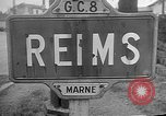 Image of French Resistance fighters take control Rheims France, 1944, second 5 stock footage video 65675055076