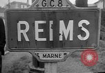 Image of French Resistance fighters take control Rheims France, 1944, second 6 stock footage video 65675055076