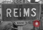 Image of French Resistance fighters take control Rheims France, 1944, second 7 stock footage video 65675055076