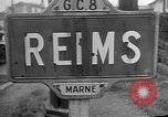 Image of French Resistance fighters take control Rheims France, 1944, second 8 stock footage video 65675055076