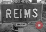 Image of French Resistance fighters take control Rheims France, 1944, second 10 stock footage video 65675055076