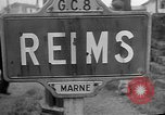 Image of French Resistance fighters take control Rheims France, 1944, second 11 stock footage video 65675055076