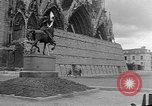 Image of Wartime protection for Cathedral of Notre-Dame  Rheims France, 1944, second 5 stock footage video 65675055077
