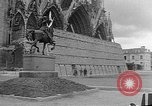 Image of Wartime protection for Cathedral of Notre-Dame  Rheims France, 1944, second 6 stock footage video 65675055077